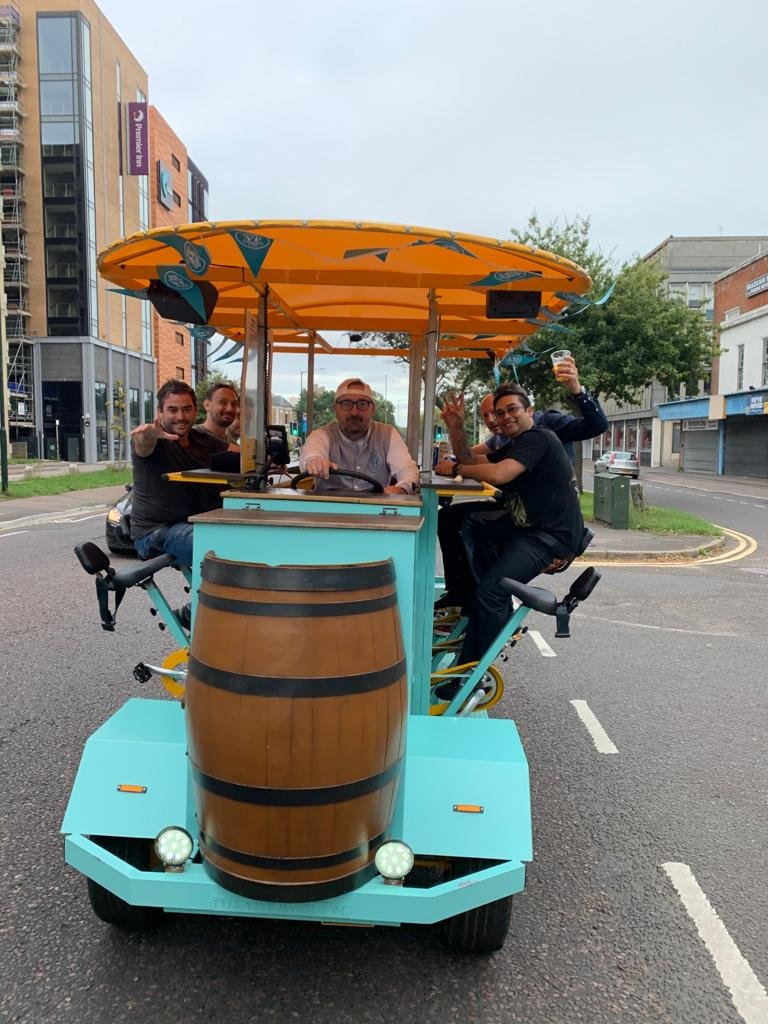 beer bike hire bournemouth 10