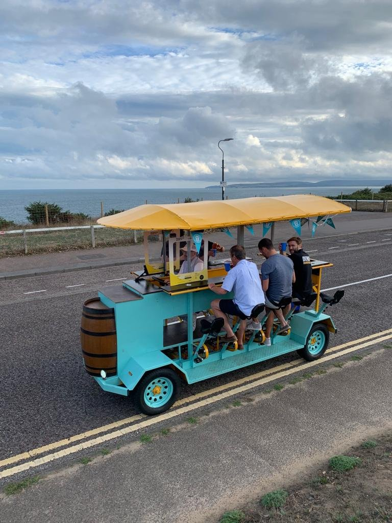 beer bike hire bournemouth 7