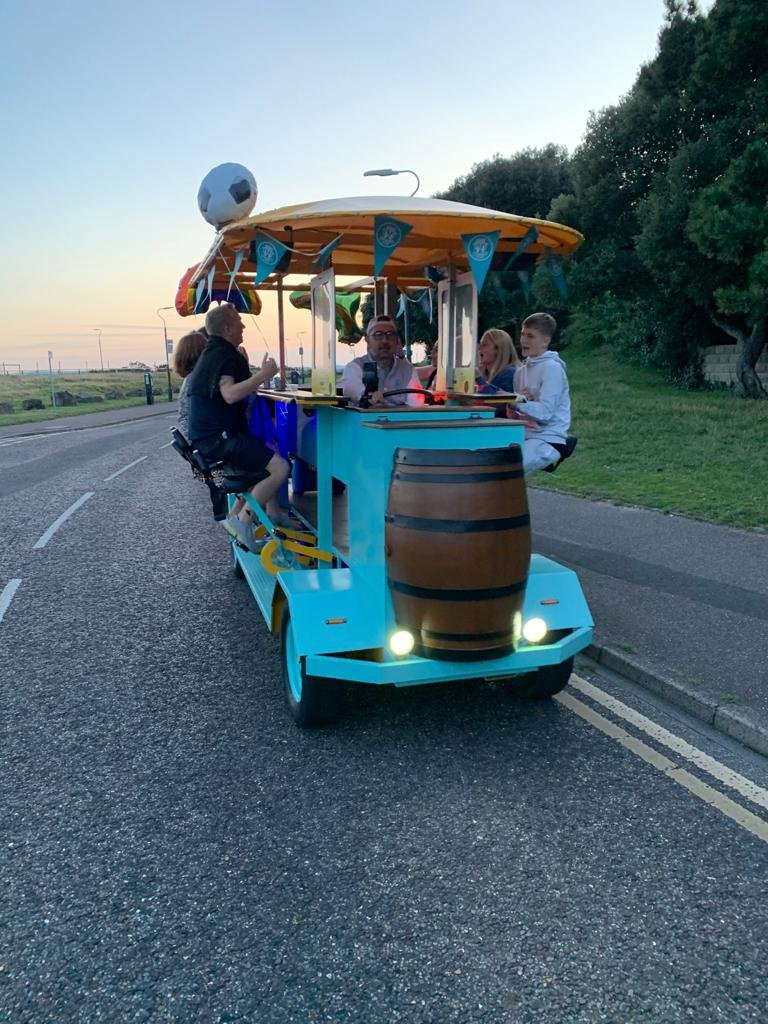 beer bike hire bournemouth 4